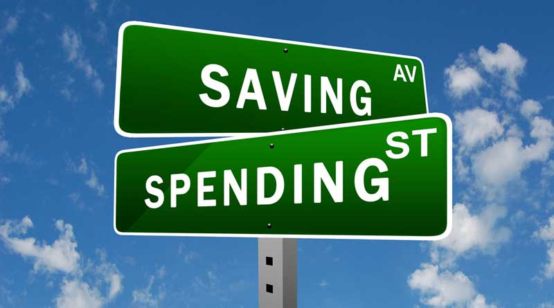 Signs for Saving and Spending