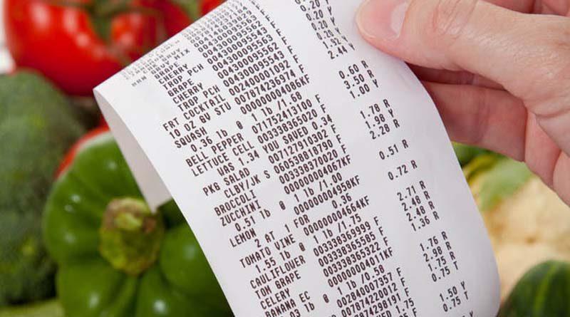 Shopping Receipt